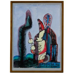 View 3: Mario Murua (Chilean, b.1952) Mixed Media Works on Paper
