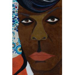 "View 2: Chris Roberts-Antieau (American, b.1950) ""Big Freedia"" Tapestry"