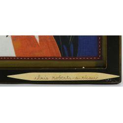 "View 4: Chris Roberts-Antieau (American, b.1950) ""Big Freedia"" Tapestry"