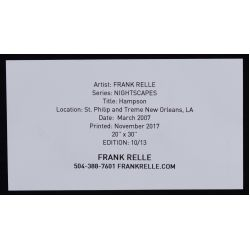 View 4: Frank Relle (American, b.1976) Photographs