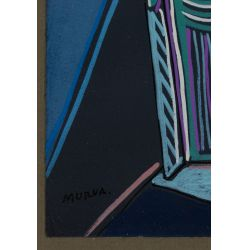 View 8: Mario Murua (Chilean, b.1952) Mixed Media Works on Paper