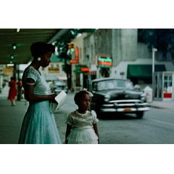 """View 2: (After) Gordon Parks (American, 1912-2006) """"Segregation in the South"""" Reproduction Giclee Print"""