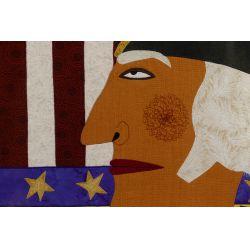 "View 2: Chris Roberts-Antieau (American, b.1950) ""George Washington"" Tapestry"