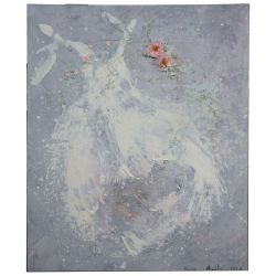 View 2: Laurence Amelie Schneider (French, 20th Century) Mixed Media on Canvas