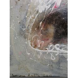 View 6: Laurence Amelie Schneider (French, 20th Century) Mixed Media on Canvas