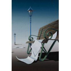 View 3: Norman C. Black (English, 1920-1999) Acrylic on Board