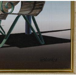 View 4: Norman C. Black (English, 1920-1999) Acrylic on Board
