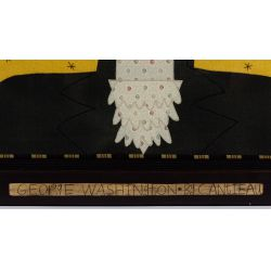 "View 3: Chris Roberts-Antieau (American, b.1950) ""George Washington"" Tapestry"