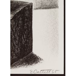 "View 3: Elizabeth Catlett (American / Mexican, 1915-2012) ""Shoe Shine Boy"" Lithograph"
