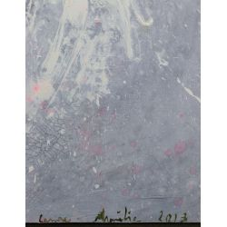 View 4: Laurence Amelie Schneider (French, 20th Century) Mixed Media on Canvas