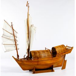 View 2: Chinese Junk Model and Conical Hat