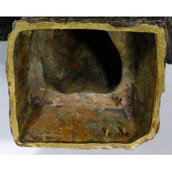 """View 8: (After) Emmanuel Villanis (French, 1858-1914) """"Fille de Boheme"""" Bronze Bust"""