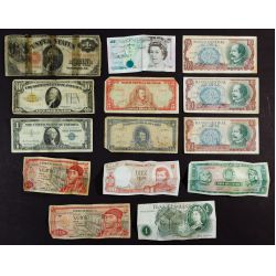 View 7: US and World Coin and Currency Assortment