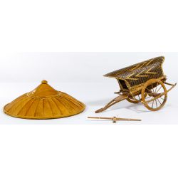 View 3: Chinese Junk Model and Conical Hat