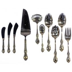 "View 6: International ""Joan of Arc"" Sterling Silver Flatware"