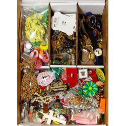 View 2: Sterling Silver and Costume Jewelry Assortment