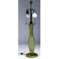 View 3: Vaso Sonneman and Michael DeLucchi Glass Lamps