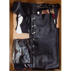 View 8: Harley-Davidson HOG Memorabilia and Leather Assortment