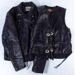 View 6: Harley-Davidson HOG Memorabilia and Leather Assortment