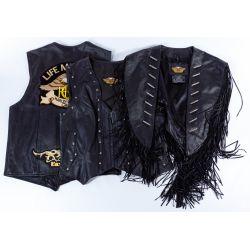 View 5: Harley-Davidson HOG Memorabilia and Leather Assortment