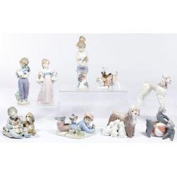 View 2: Lladro Figurine Assortment