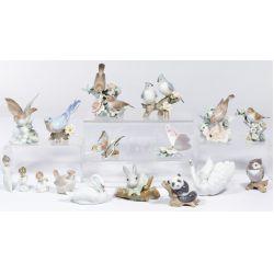 View 3: Lladro Figurine Assortment