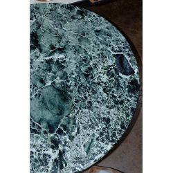View 5: Marble and Chrome Base Dining Table
