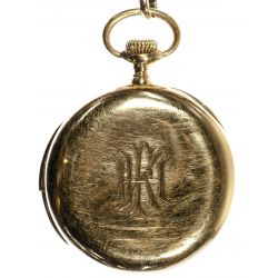 View 3: Patek Philippe 18k Gold Minute Repeater Pocket Watch