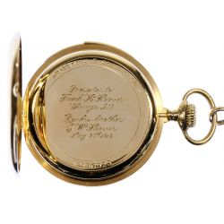 View 4: Patek Philippe 18k Gold Minute Repeater Pocket Watch