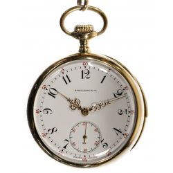 View 2: Patek Philippe 18k Gold Minute Repeater Pocket Watch