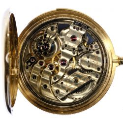 View 5: Patek Philippe 18k Gold Minute Repeater Pocket Watch