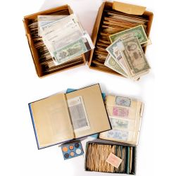 World: Currency and German Notgeld Assortment