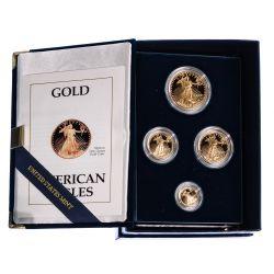 1989 American Eagle Gold Bullion Proof Set
