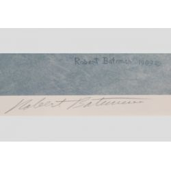 "View 3: Robert Bateman ""The Air, The Forest and the Watch"" Singed Print"