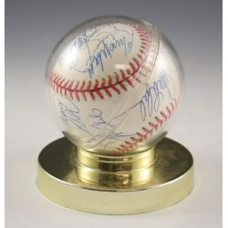 View 2: Chicago Cubs Autographed Baseball