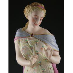 View 2: 19th Century European Ceramic Figurine