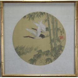 View 2: Oriental Paintings on Silk - Birds