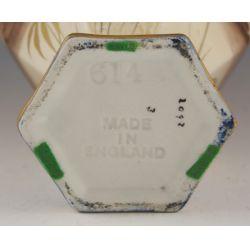 View 2: English Porcelain Vase - Arabian Knights Motif