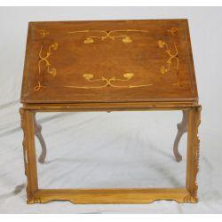 View 2: Inlaid Walnut Tray Table