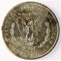 View 2: 1878-CC Morgan Silver Dollar