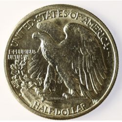 View 2: 1943-D Walking Liberty Half Dollar