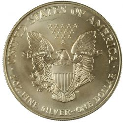 View 2: 1998 Silver Eagle Dollar