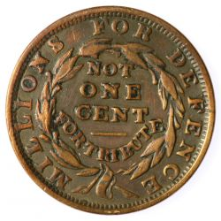 View 2: 1841/41 Hard Times Token
