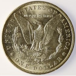 View 2: 1888 Morgan Silver Dollar