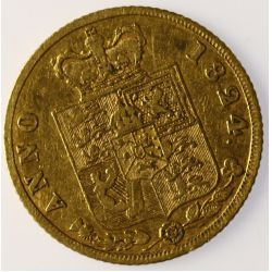 View 2: 1824 George IV Gold Coin (Britain)