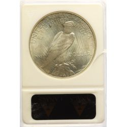 View 2: 1925 Peace Dollar MS-65 (ANACS)