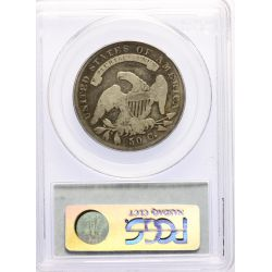 View 2: 1836 Bust Half Dollar VG-8 Lettered Edges (PCGS)