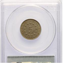 View 2: 1868 Shield Nickel AU-53 (PCGS)