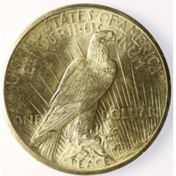 View 2: 1925 Peace Dollar