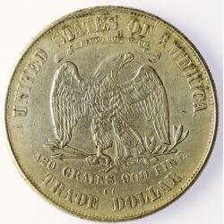 View 2: 1875-CC Trade Dollar